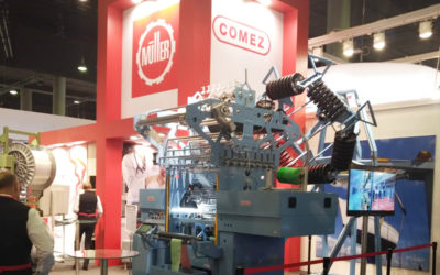 New Comez MULTIAXIAL/EL-32 at TechTextil 2019
