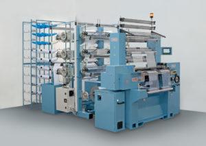 Comez 800 ACO/EL: crochet machine with compound needles