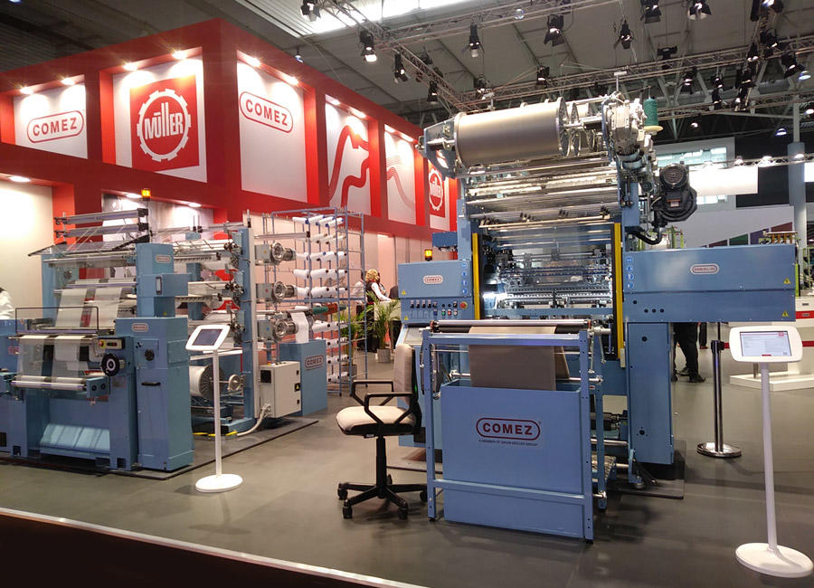 ITMA 2019: innovation in Comez machines