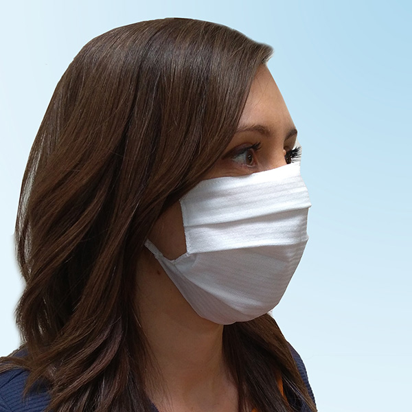 reusable face mask made on Comez machines