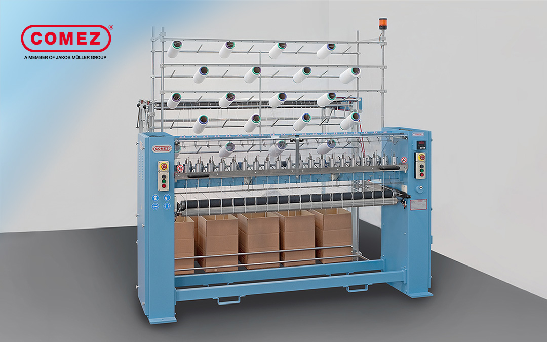 Circular knitting machine: 1700/20 for chainette cords and ear loops for face mask