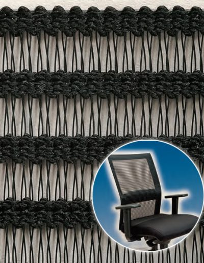 Furnishing textiles (ergonomic chair)